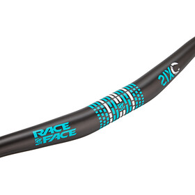 Race Face Sixc 3/4 Riser Accessoires pour cintre Ø31,8mm, turquoise/white